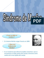 Diapositivas de Anatomia Sindrome de MARFAN