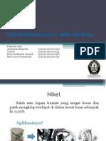 Elektrodeposisi (Alloy) Nikel-tin (Ni-sn)