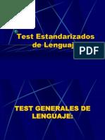 Test Estandarizados de Lenguaje 12352