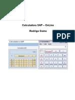 Calculadora SAP