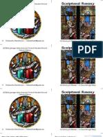 Scriptural Rosary Booklet (Color)