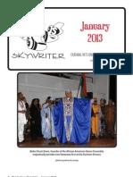 Durham Skywriter — January 2013