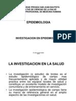 6 Clase Investigacion en Epi 2012-1