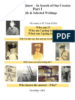 An Engineer's Quest - In Search of Our Creator Part I My Life & Selected Writings