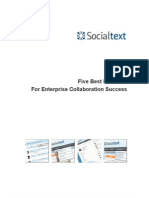 Whitepaper Best Practices for Enterprise Collaboration