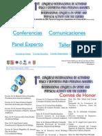 1º CONGRESO DE ACTIVIDAD FÍSICA DEPORTIVA PARA MAYORES 2002