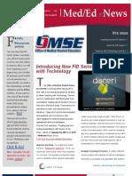 UA OMSE Med/Ed eNews v1 No. 04 (JAN 2013)
