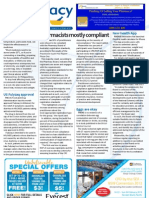 Pharmacy Daily for Wed 09 Jan 2013 - Pharmacist compliance, Fulyzaq, Accreditation Council, ANZTPA, Health and Beauty and much more...