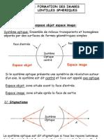 optique lentilles