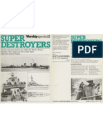 Super Destroyers Warship Special No. 2