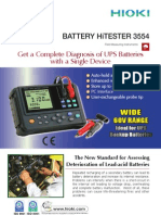 Hioki Battery Hitester 3554 3554e5-18b