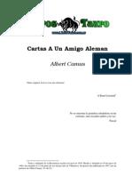 Cartas a Un Amigo Aleman - Camus