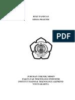 Contoh Buku Panduan PKL