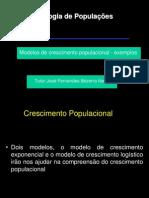 Modelos de Crescimento Populacional - Exemplos