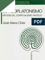 El Neoplatonismo - Alsina Clota José