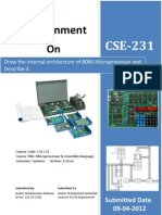 Microprocessore Assignment Masud