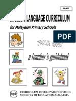 Panduan Guru Bahasa Inggeris Tahun 1