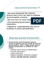 Business and the Environment11