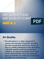 Air Quality and Air Quality Control