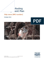 Model Biofouling Management Plan Oct 2012_tcm155-241770