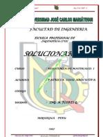 SOLUCIONARIO DE RESISTENCIA DE MATERIALES 2007-I