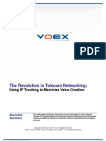 White Paper - VoEX IP Trunking