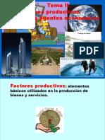 Tema II Los Factores Productivos y Los Agentes Econmicos