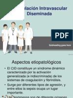 CLASE UNIDAD X HEMATOPOYÉTICO, COAGULACIÓN INTRAVASCULAR DISEMINADA