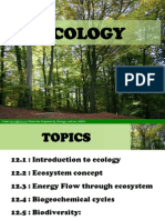 Chapter 12 ECOLOGY Hour1 Edited