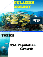 Chapter 13 Population Ecology Hour 1 Edited