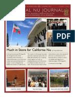The Cal Nu Journal Fall 2012