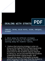 Dealing With Strategies