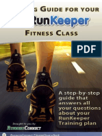 Runkeeper Fitness class training Guide