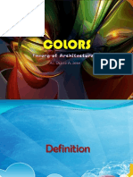 facts about colors