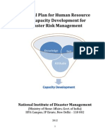 Human Resource Plan for Disaster Management (India)