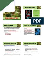 Chapter 14 Biocatalysis Hour1