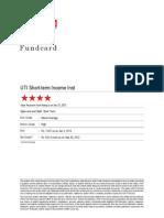 ValueResearchFundcard UTIShort TermIncomeInst 2013Jan04