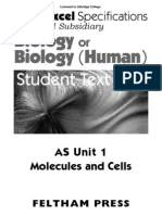 Edexcel AS unit one revision booklet