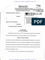 Wright Indictment