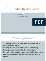 commodities basics