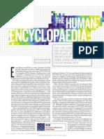 The human encyclopaedia