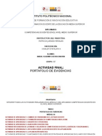 PORTAFOLIO DE EVIDENCIAS PROFORDEMS MODULO 2 SEXTA GENERACION