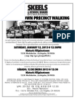 FILIPINOTOWN PRECINCT WALKING