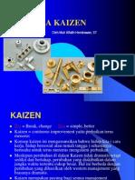 """Kaizen (改善?) merupakan istilah dalam bahasa Jepang yang bermakna """"perbaikan berkesinambungan"""""""