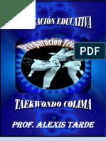 Planeación educatica en Taekwondo