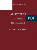 Myles F. Burnyeat - Aristotle's Divine Intellect