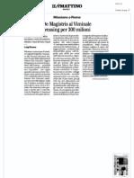 Rassegna Stampa 09.01.13