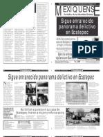 Versión impresa del periódico El mexiquense 9 enero 2013