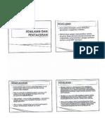 PSS 3110 - Penilaian dan Pentaksiran