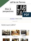 Le labfab de Rennes 2012-2013